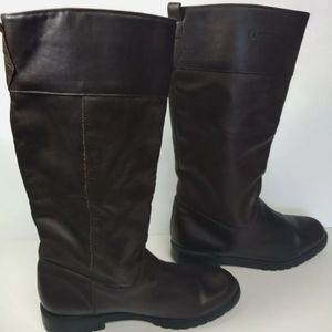 Orvis Brown Leather Riding Boots Womens Size 10B